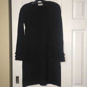 CK Sweater Dress with ruffles